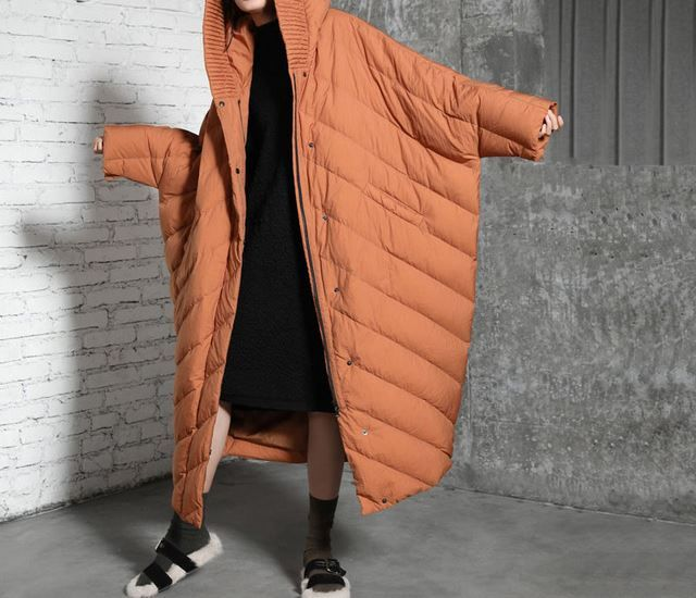 Coat Outerwear Parka Down Jacket Female Plus Size Winter 90