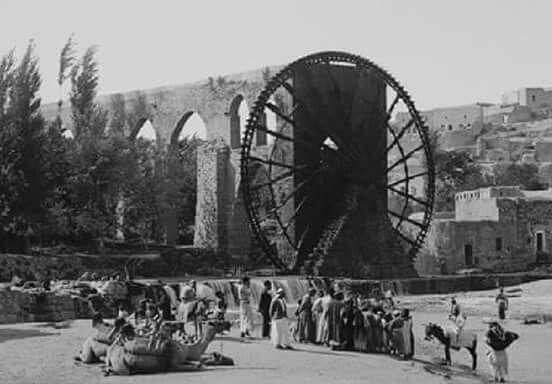 الساقية التى كانت ترفع المياه الى سور مجرى العيون لنقل المياه الى قلعة صلاح الدين عام 1884 عهد صاحب الجناب سمو الخديو Alexandria Egypt Egypt History Old Egypt