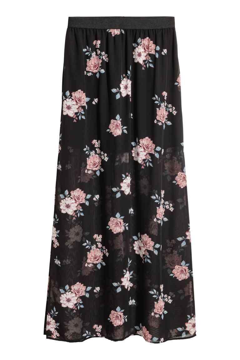 Verwonderlijk Lange rok (met afbeeldingen) | Lange rok, Lange rok zwart, Rok AJ-02