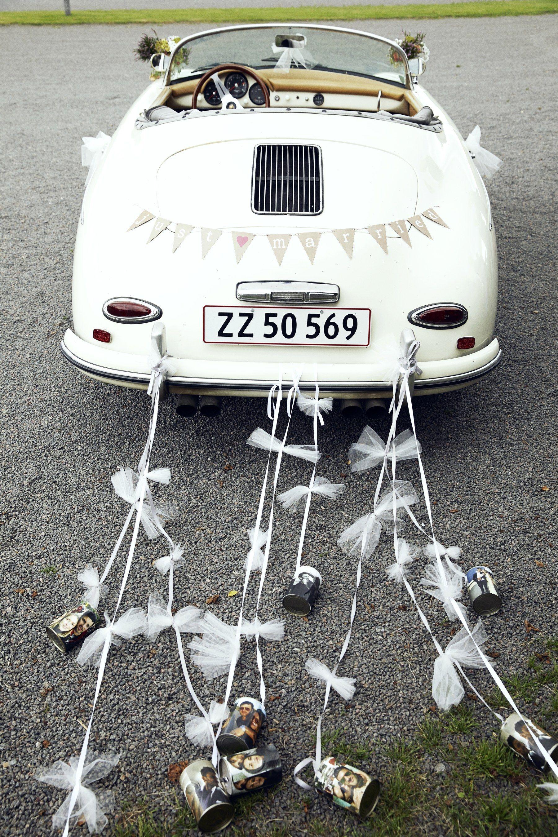 16++ Wedding getaway car decorations information