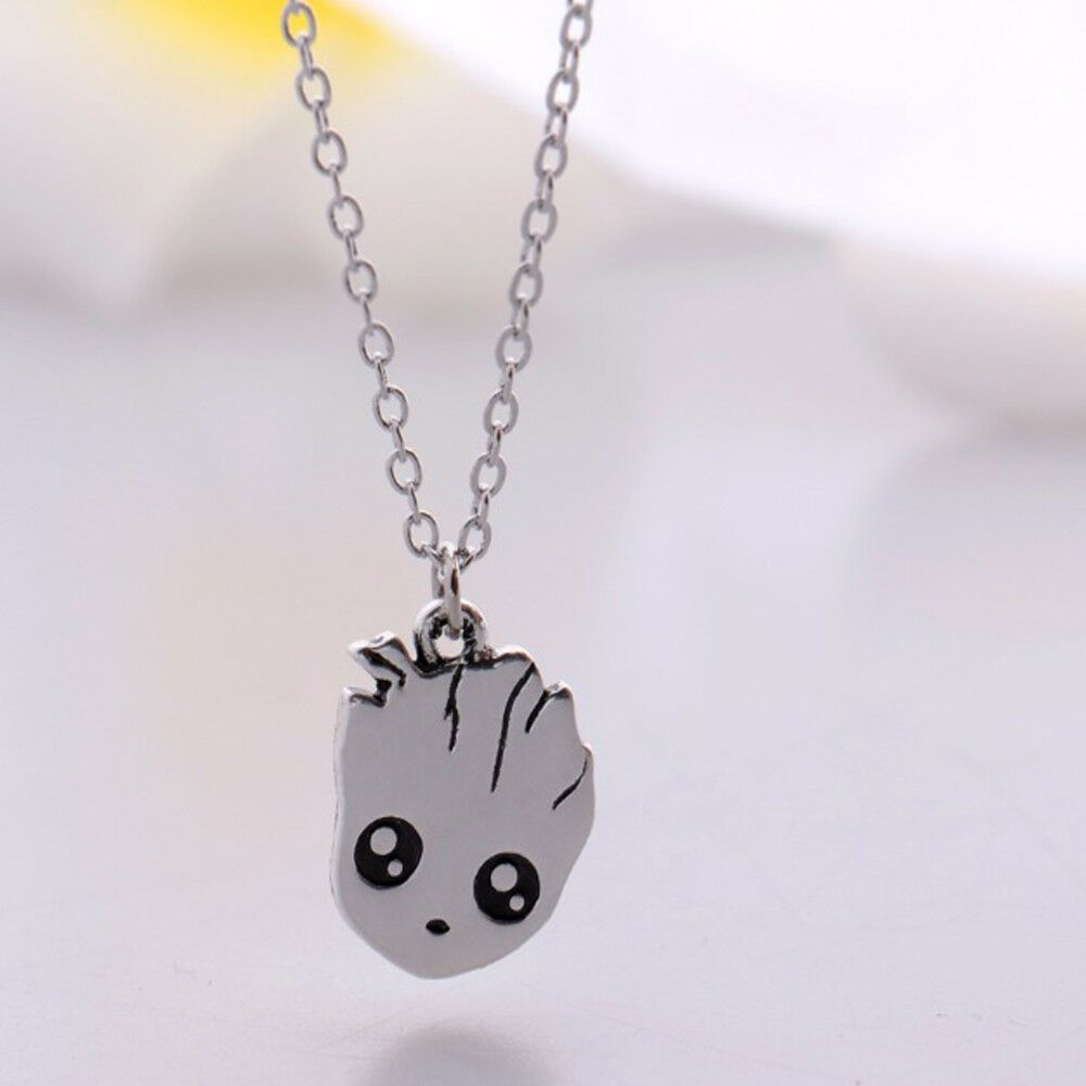 Guardians of the Galaxy Groot Wood Necklace