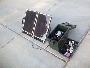 Simple DIY portable solar power box | Energy | Pinterest ...