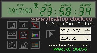 Countdown Timer   Voice Desktop Clock   Digital countdown