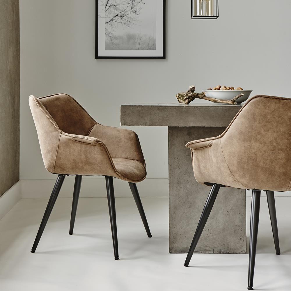 chaise de salle a manger simili cuir chaise de salle manger en simili cuir et en m tal