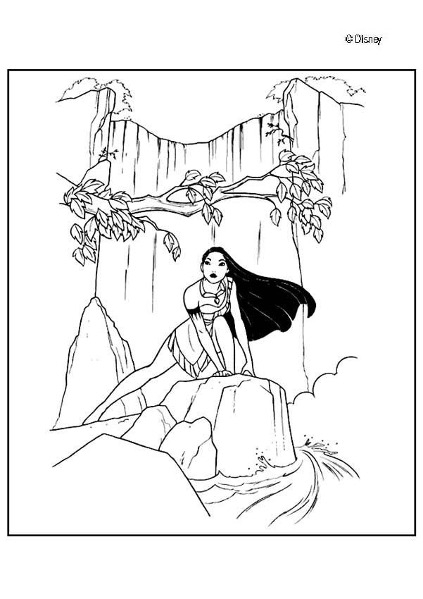 Dibujo para colorear : Princesa de la naturaleza | coloring pages ...