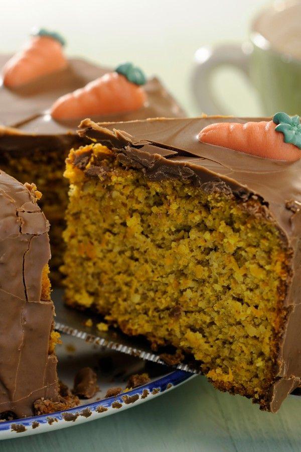 Saftiger Schoko-Möhrenkuchen