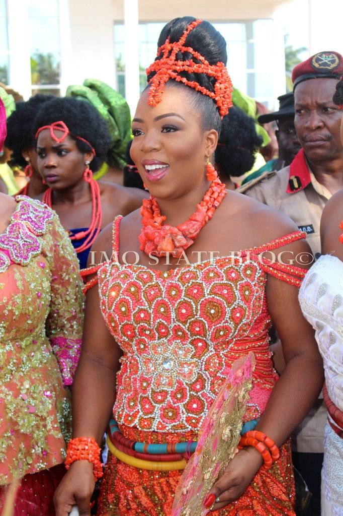 Igbo bride from Imo state, Nigeria | Ethnic Nuptials | Pinterest | Arte