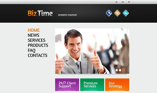 50 best consulting website templates free premium web website 50 best consulting website templates free pronofoot35fo Gallery