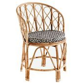 Madam Stoltz Bamboo Chair  D 46x76 cm  Natural  Madam Stolz