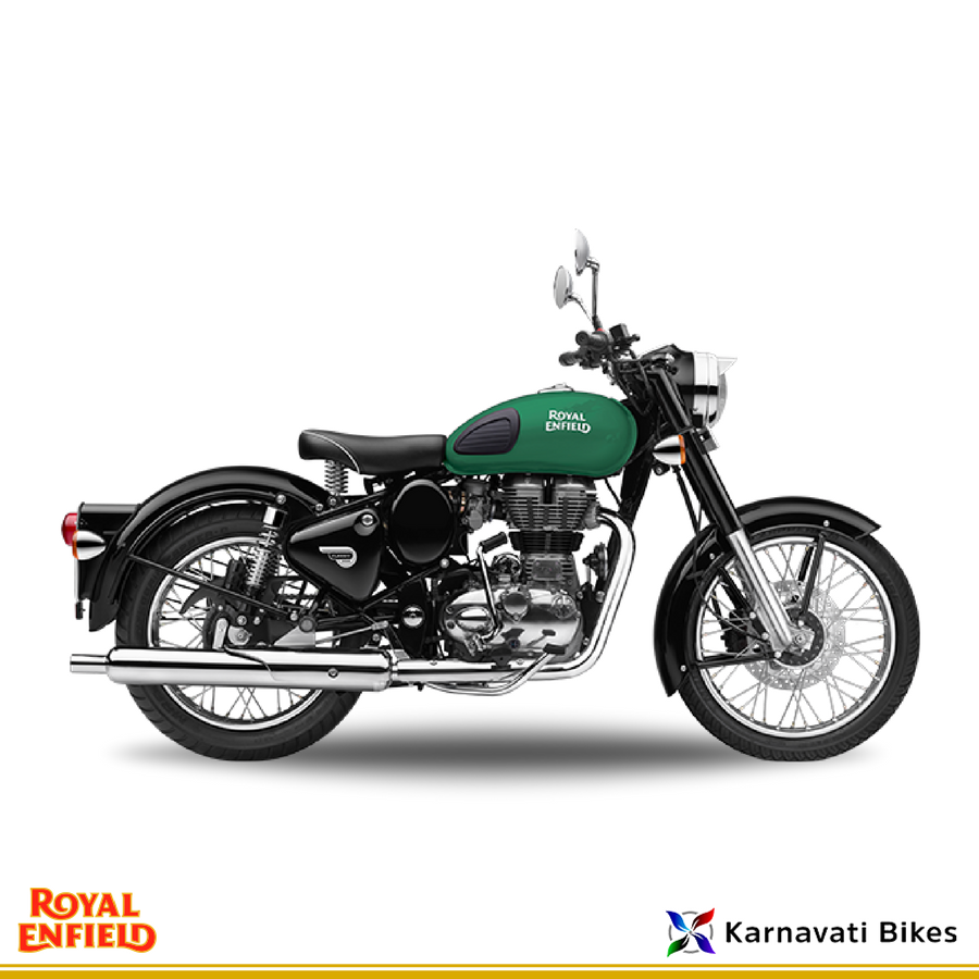 Born Of A Rich Heritage And Bred With Royal Elegance Royalenfield Classic Redditch Series Green Enfield Classic Royal Enfield Classic 350cc Royal Enfield