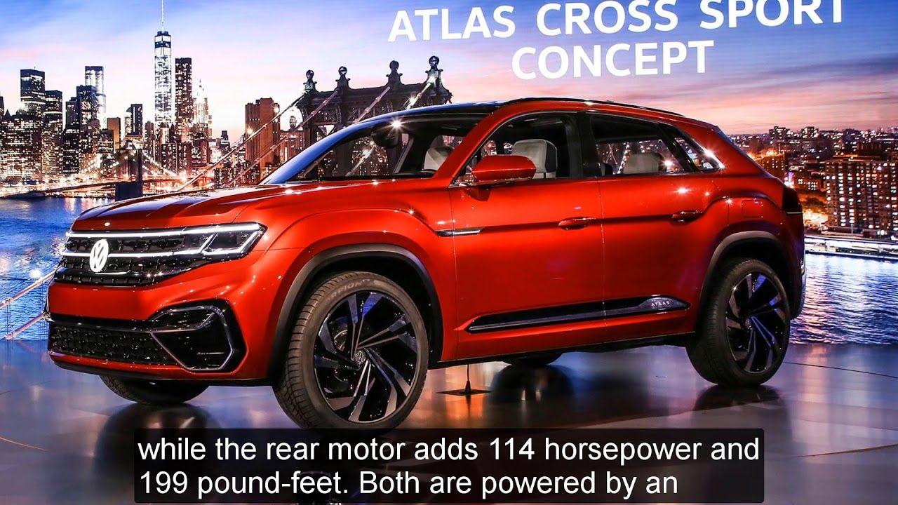 Unveil 2019 Volkswagen Atlas Cross Sport Concept [Lastest