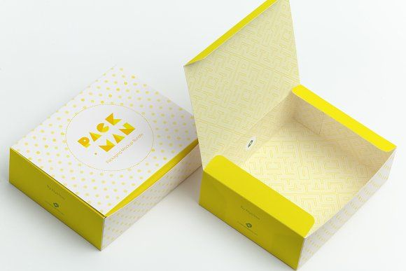 Download Sweet Box Mockup 06 Box Mockup Sweet Box Box Packaging Design