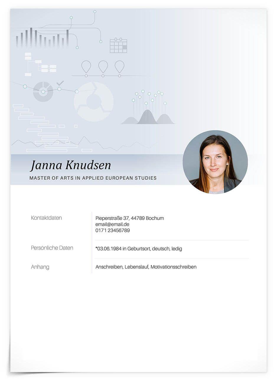 Das Deckblatt Unserer Premium Designvorlage Projektmanager Ein Schlichtes Und Zeitloses Design Mit Vielen Anpa Bewerbung Design Bewerbungsdesign Bewerbung