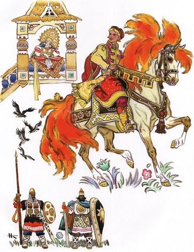 Сивка-бурка (с изображениями) | Сказки, Иллюстрации ...