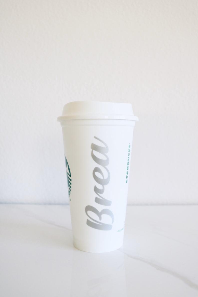 CUSTOM NAME ToGo CUP To Go Coffee Custom Coffee Cup Name