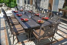 8 Person Patio Table Furniture Ideas Pinterest