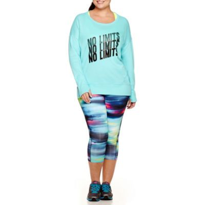 c2cafbd7 Plus Size Workout Clothes & Activewear - JCPenney | Fitness | Trendy ...
