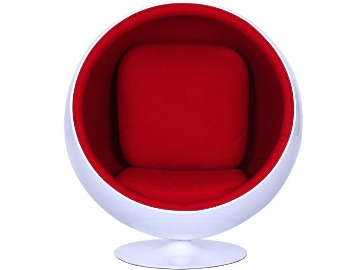 Ball chair by eero aarnio platinum replica ball chair