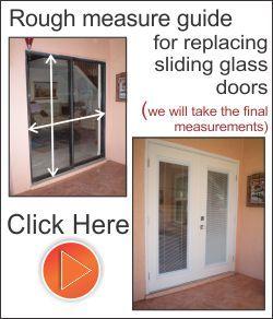 Replace The Sliding Glass Doors With Fiberglass Exterior French Doors