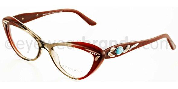 e191190f4d Bvlgari BV 4052B 5210 BURGUNDY Bvlgari Glasses