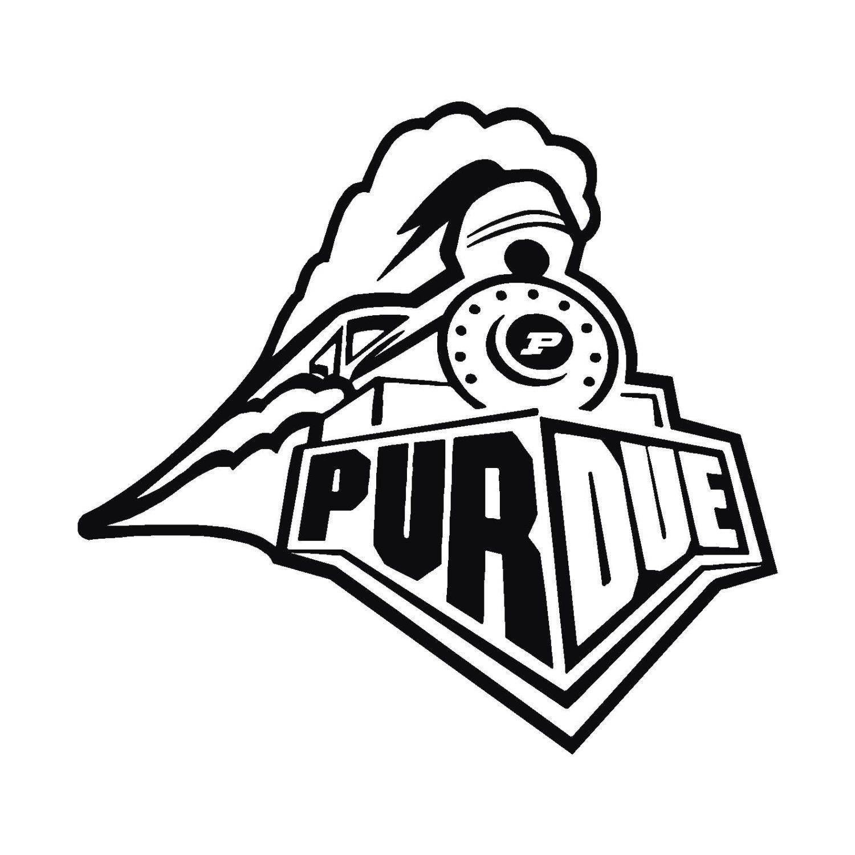 Purdue Boilermakers Stencils