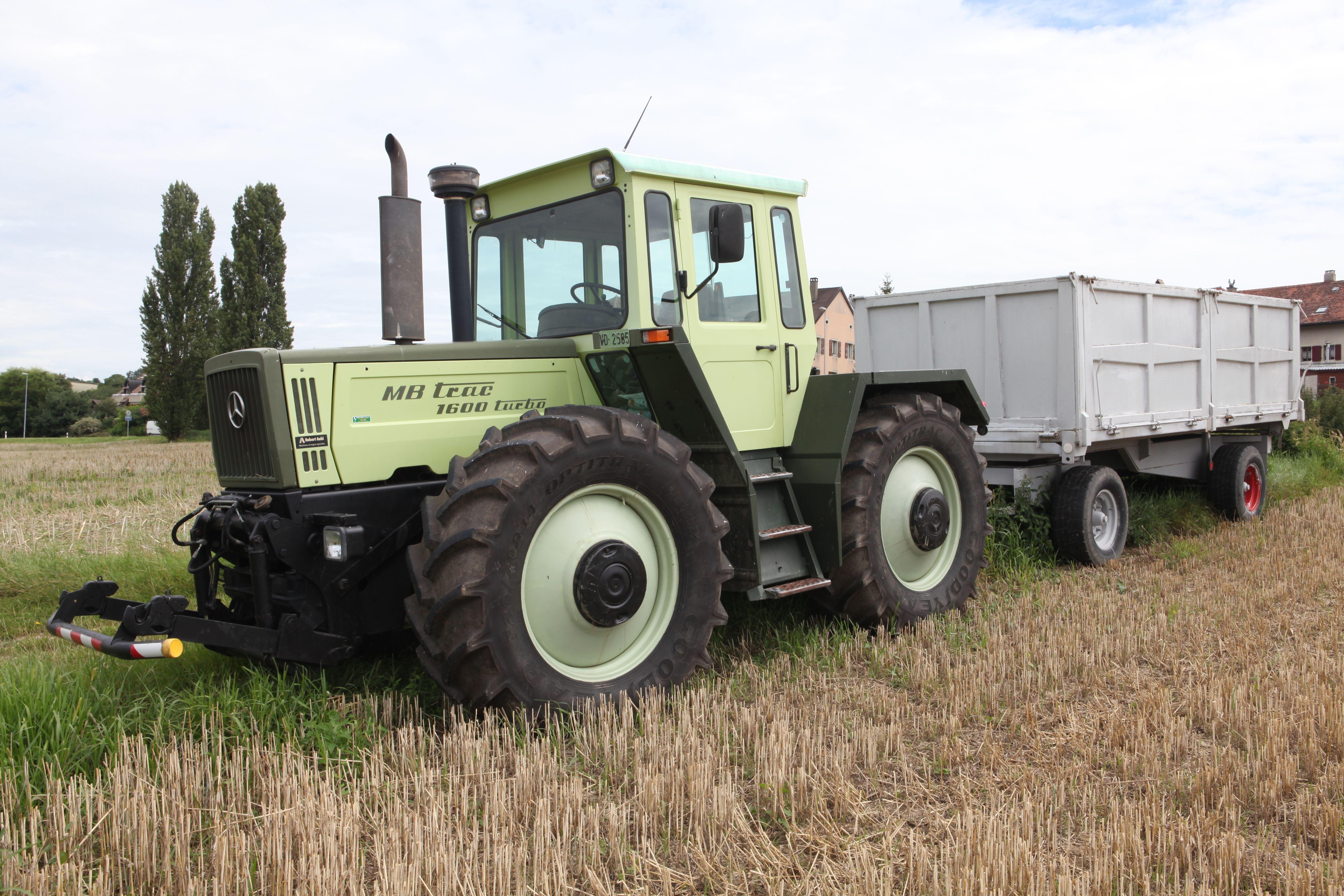 mercedes benz mb trac 1600 turbo tractor mania. Black Bedroom Furniture Sets. Home Design Ideas
