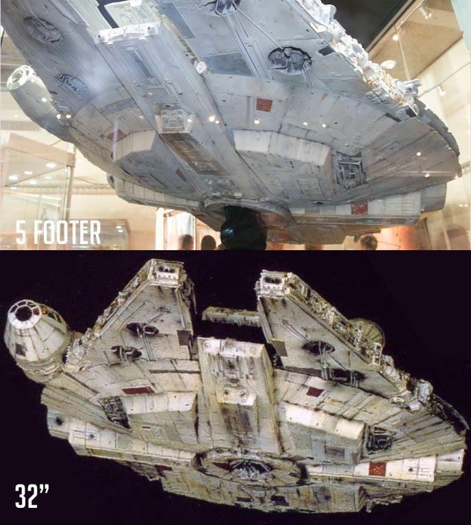 Millennium Falcon 1:48, 28 inch (Hasbro Hero Series)   Model ...