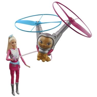 Barbie Star Light Adventure with Flying Cat Review