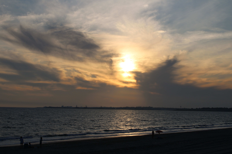 atardeceres en la playa de el ancla en El Puerto de Santa María