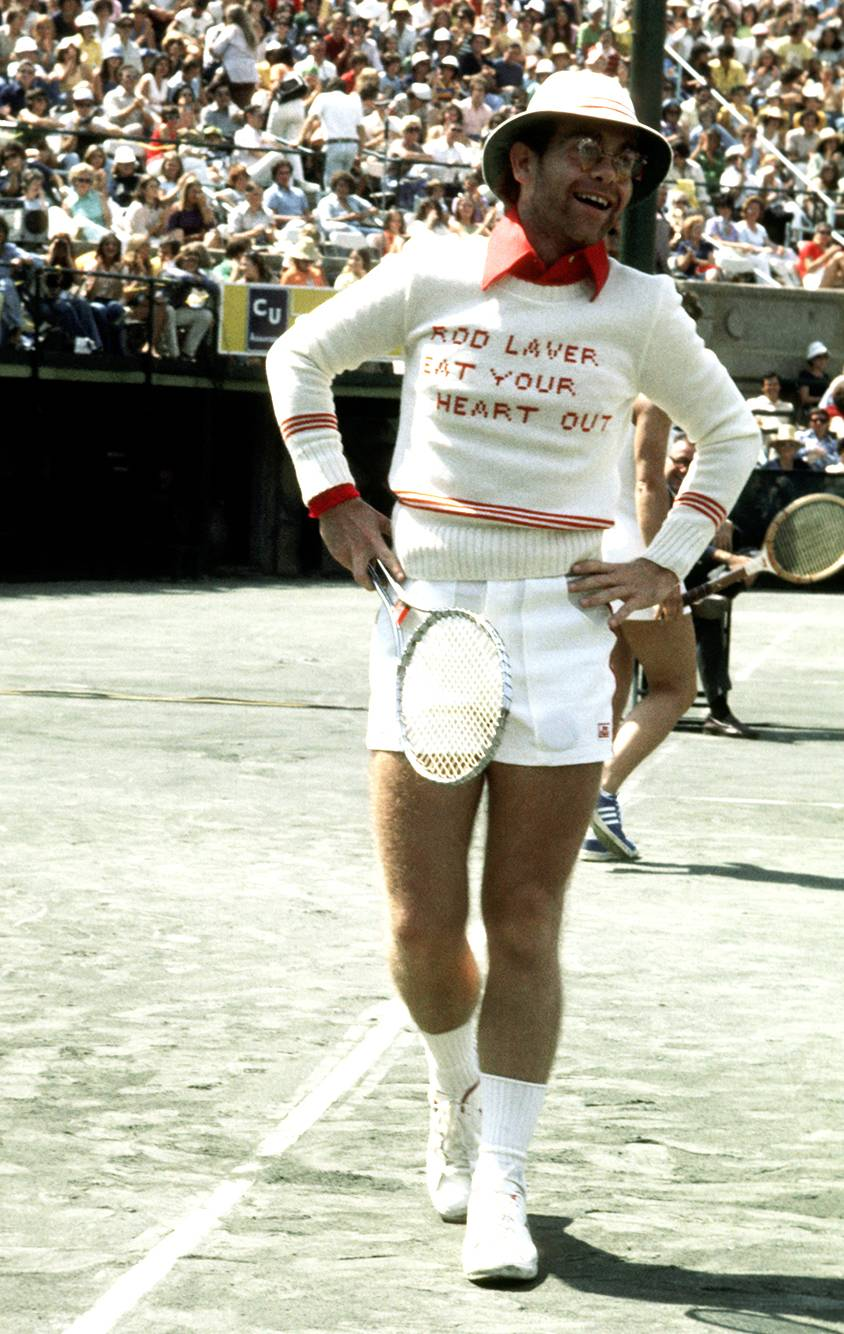 I Don't Play Tennis, But These Vintage Celeb Tennis