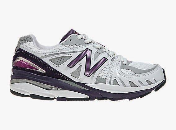 Women's New Balance 1540 Running Shoe - White/Purple