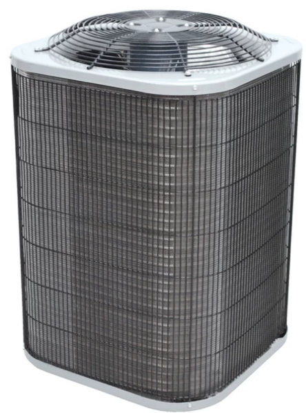 There is additionally an indoor unit (evaporator and
