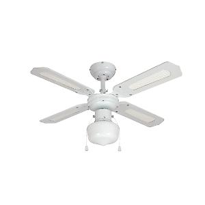 Ventilatore da soffitto con luce barbade dream home for Leroy merlin ventilatori da soffitto