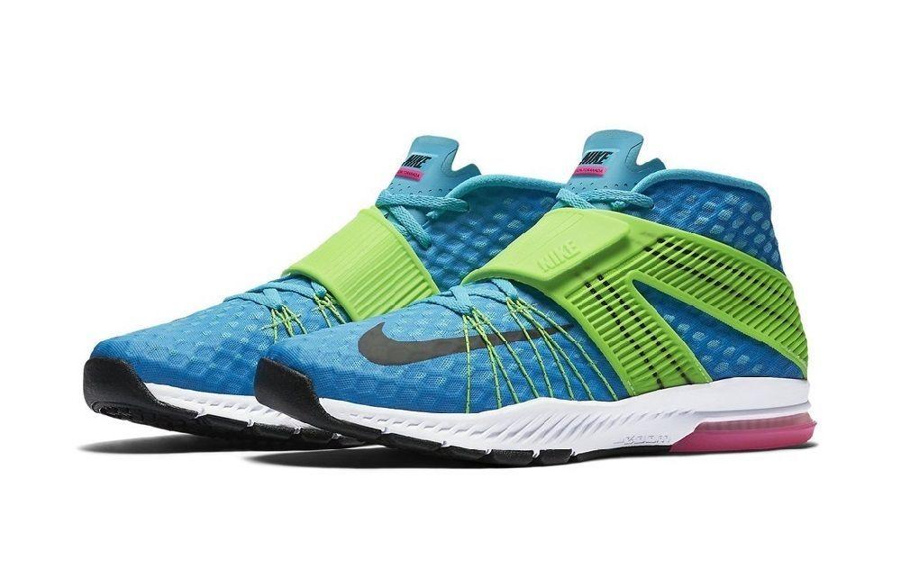 6ca4a6568da6e3 Nike Men s Zoom Train Toranada Training Shoes 835657 403  Blue Green Pink Black…