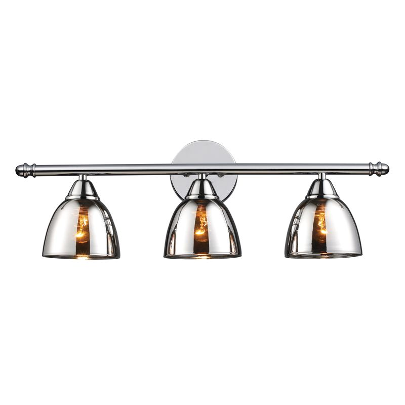 bathroom vanity lights chrome finish. ELK Lighting Reflection Vanity  Polished Chrome Bed Bath Beyond Reflections Bar By Elk 10072 3 Bathroom