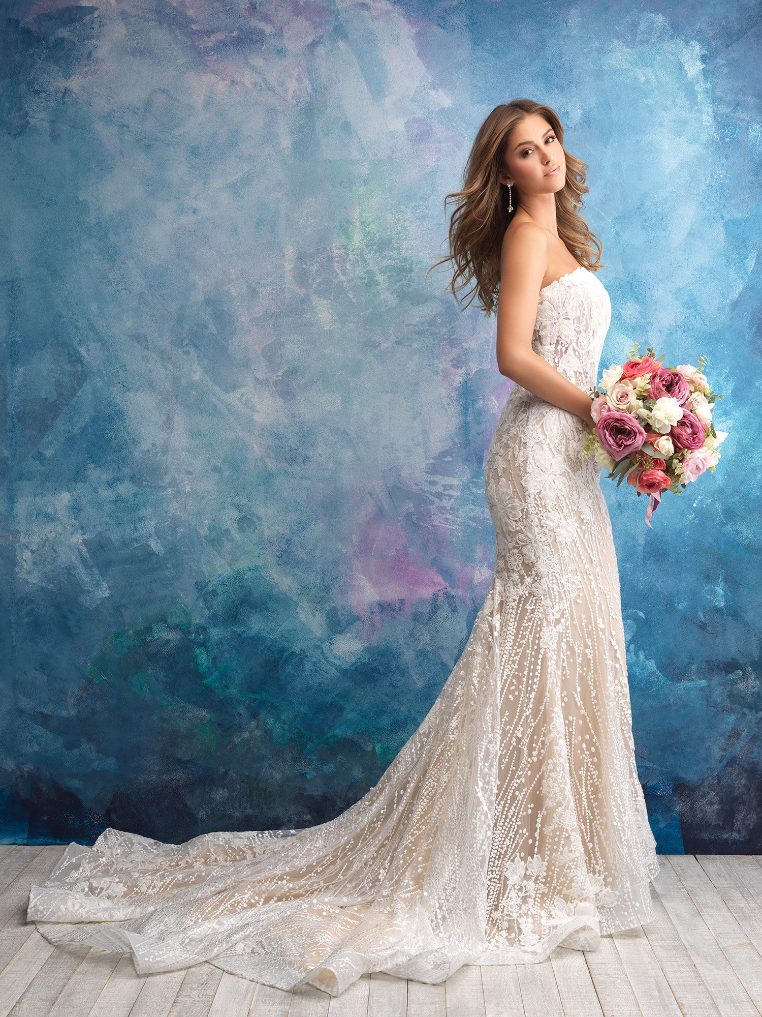 8bc2f8fe963f1 Allure Bridals Wedding Dress Collection Fall 2018 will leave you speechless  with their stunning gowns, spectacular details, and downright  sophistication.