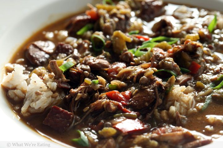 Knorr homestyle stock chicken andouille tasso ham gumbo