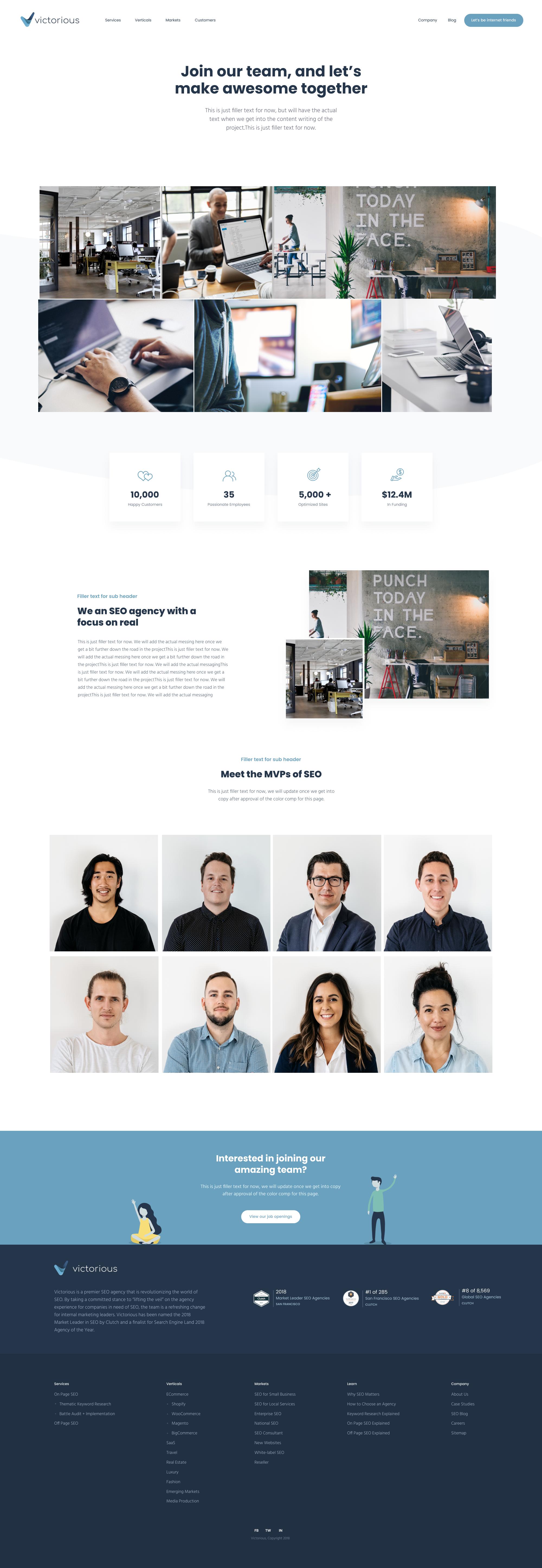Company Large Website Design Company Design