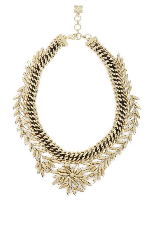 bcbg   Woven Leaf Necklace #bcbg #necklace