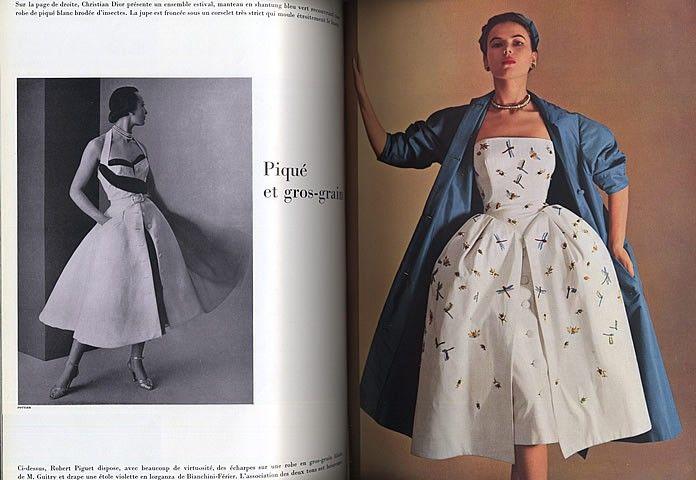 Mode de Paris 1951 June