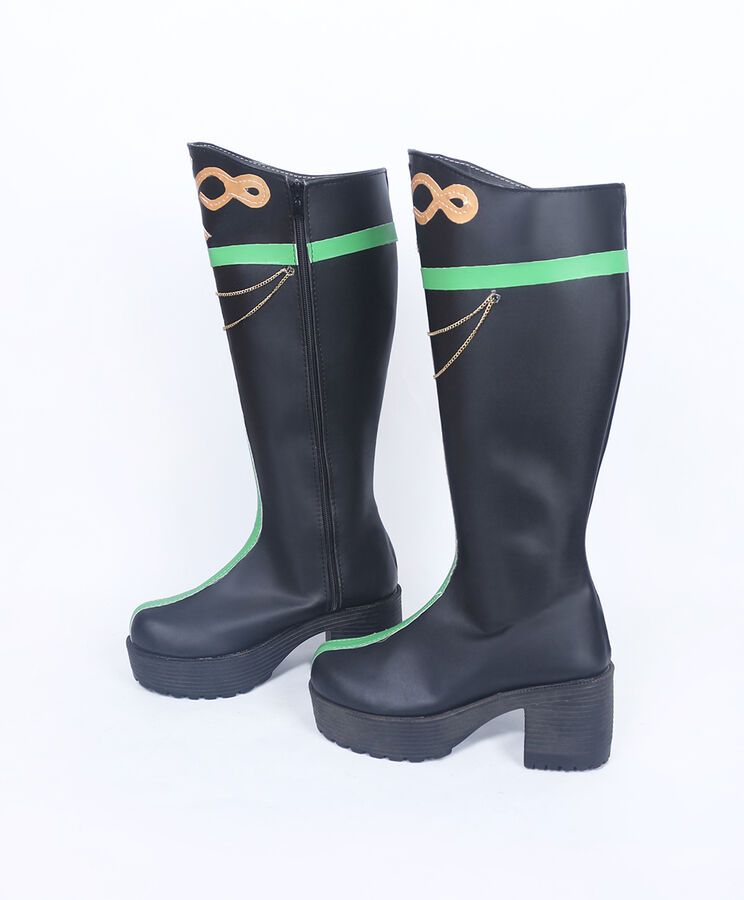 7b868fb40423 Yumemigusa Tsukiuta Yayoi Haru Cosplay Boots shoes Custom Made #Yayoi#Haru#Yumemigusa