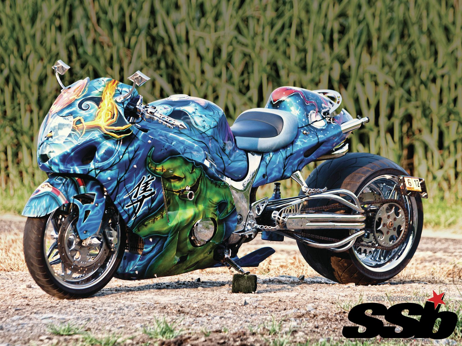 hayabusa tuning motorbikes 2560 - photo #31