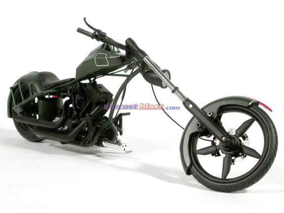 American Chopper Mikeys Bike Toy 1:10 Scale Die-Cast