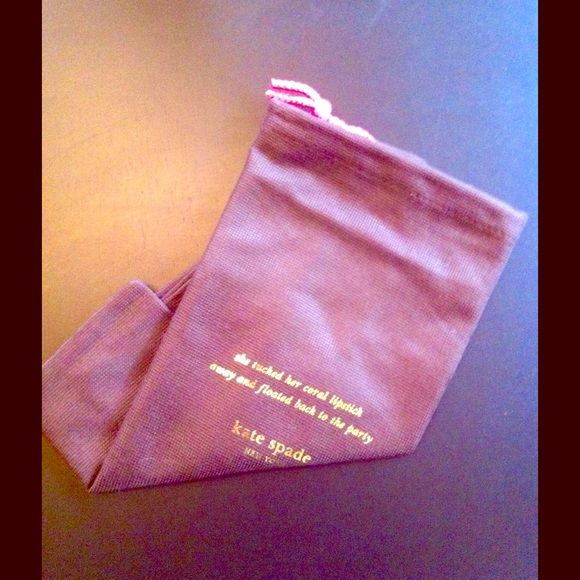 Kate Spade medium dust bag. New Never used. Perfect condition. Came with a crossbody.  Great for storing or travel. kate spade Accessories