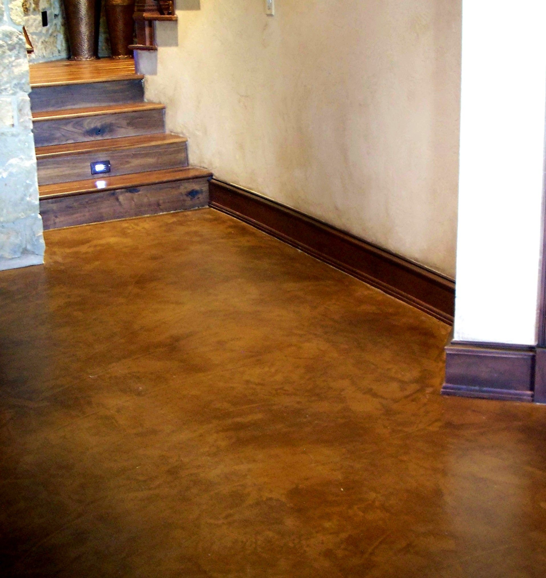 outside it porch concrete floor pinterest finishes do stained acid pin gray yourself