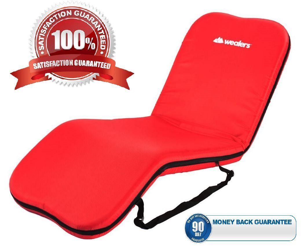 Wealers Portable Foldable Padded Recliner Seat Mat for C&ing or a Beach Mat with  sc 1 st  Pinterest & Wealers Portable Foldable Padded Recliner Seat Mat for Camping or ... islam-shia.org