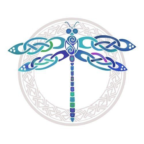 Music Dragonfly Tattoo