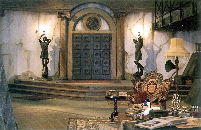 The 8th Doctor's TARDIS interior