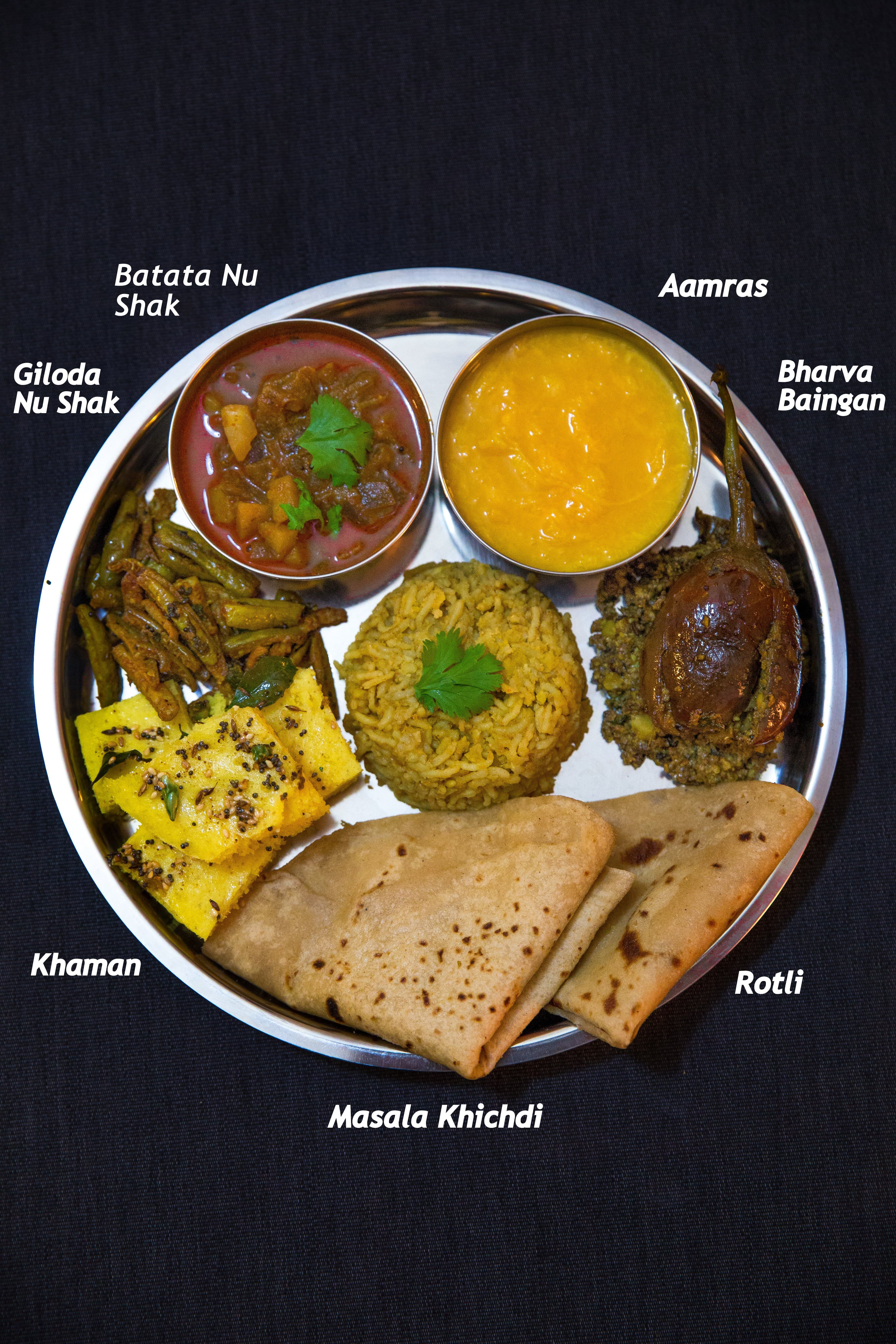 Gujarati Thali Recipes Gujarati cuisine, Indian food