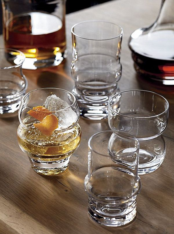 10 Fabulous Designs Of Drinking Glasses Glass Old Fashioned Glass Crate Barrel